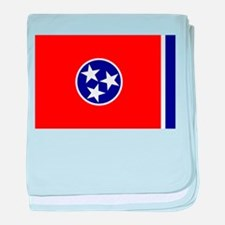 Tennessee Flag baby blanket
