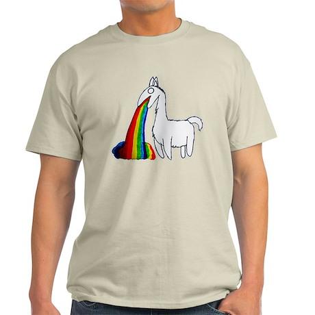 Llama Vomit Light T-Shirt