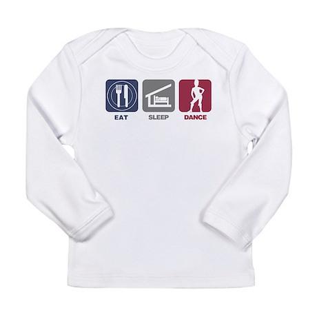 Eat Sleep Dance 3 Long Sleeve Infant T-Shirt