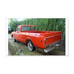 1971 Ch##y Truck Front & Rear 22x14 Wall Peel