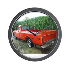 1971 Ch##y Truck Front & Rear Wall Clock