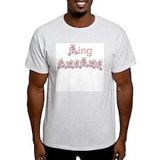 Beary Cute Ring Bearer Ash Grey T-Shirt