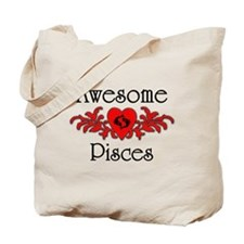 Cute Astrology pisces Tote Bag