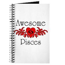 Cute Pisces Journal