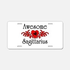 Unique Sagittarius Aluminum License Plate