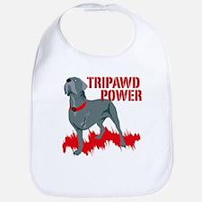 Tripawd Power Bellona Bib