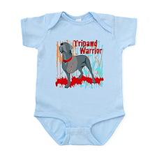 Tripawd Warrior Bellona Infant Bodysuit
