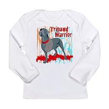 Tripawd Warrior Bellona Long Sleeve Infant T-Shirt