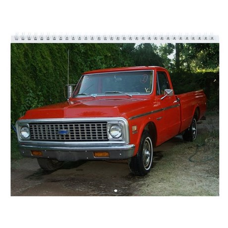 Truck & Car Wall Calendar