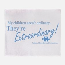 Extraordinary! (Children) Throw Blanket