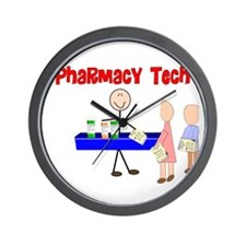 More Pharmacist Wall Clock