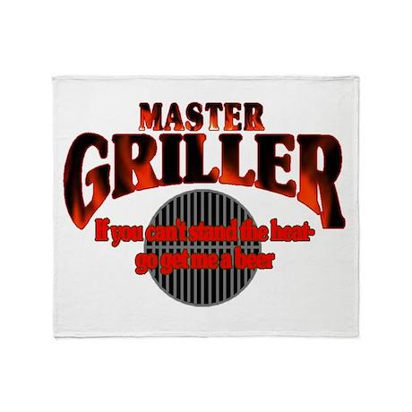 Master Griller Throw Blanket