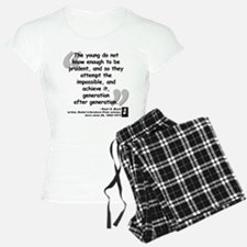 Buck Impossible Quote Pajamas