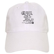 Buck Impossible Quote Baseball Cap