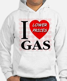 I Love GAS Lower Prices Jumper Hoody