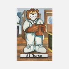 Nurse, Male - Rectangle Magnet