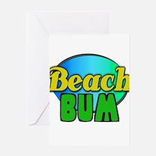 Beach Bum Greeting Card