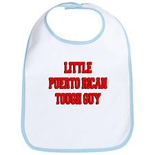 Little Puerto Rican Tough Guy Bib