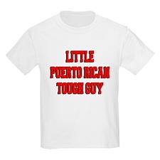Little Puerto Rican Tough Guy T-Shirt