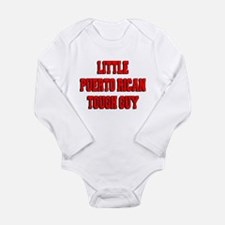 Little Puerto Rican Tough Guy Long Sleeve Infant B