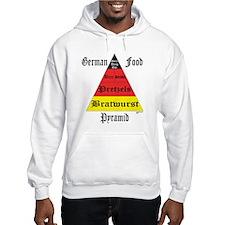 German Food Pyramid Hoodie
