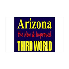 Arizona New 3rd World 38.5 x 24.5 Wall Peel