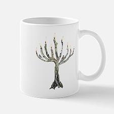 Twig Menorah Chicadees Mug