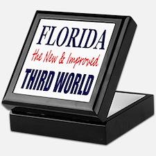 Florida New 3rd World Keepsake Box