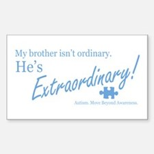 Extraordinary! (Brother) Decal