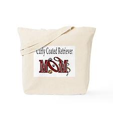 Curly Coated Retriever Mom Tote Bag