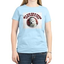 American eskimo Mothers Day Women's Pink T-Shirt