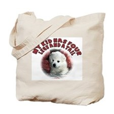 American eskimo Mothers Day Tote Bag