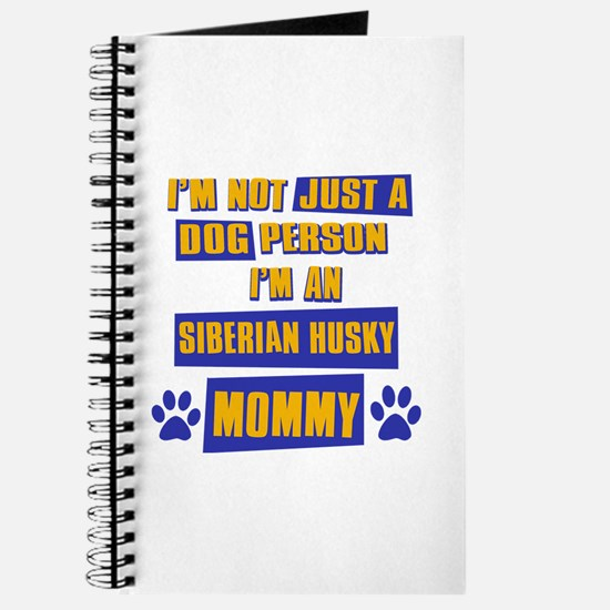 Siberian husky Mommy Journal