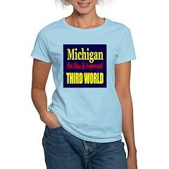Michigan New 3rd World Women's Light T-Shirt