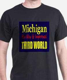 Michigan New 3rd World T-Shirt