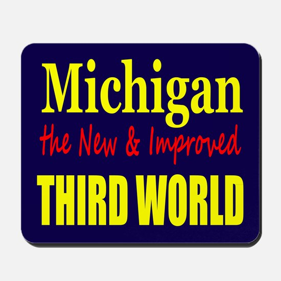 Michigan New 3rd World Mousepad