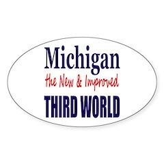 Michigan New 3rd World Decal