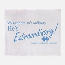 Extraordinary! (Nephew) Throw Blanket