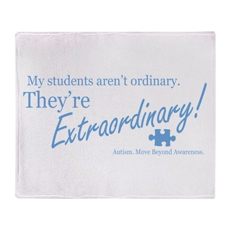 Extraordinary! (Students) Throw Blanket