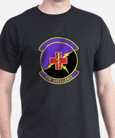 927th Aeromedical Staging Black T-Shirt