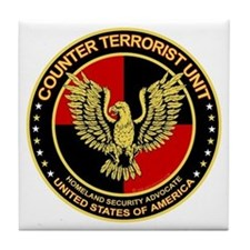Counter Terrorist Seal Tile Coaster