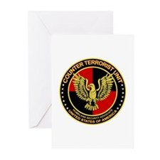 Counter Terrorist Seal Greeting Cards (Package of