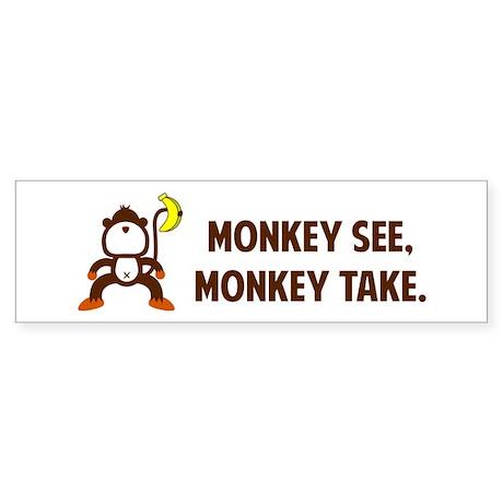 Monkeys Sticker (Bumper)