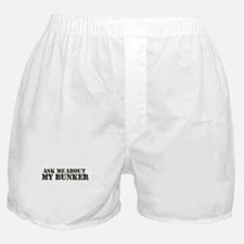 My Bunker - Ask Me Boxer Shorts