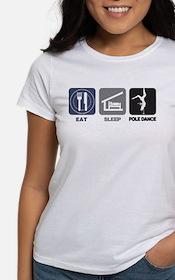 Eat Sleep Pole Dance Tee