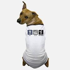 Eat Sleep Pole Dance Dog T-Shirt
