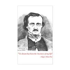 Edgar Allan Poe Decal