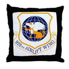 928th Airlift Wing Throw Pillow