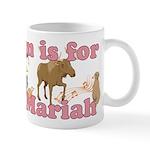 M is for Mariah Mug