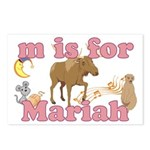 M is for Mariah Postcards (Package of 8)